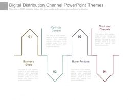 Digital Distribution Channel Powerpoint Themes