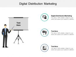 Digital Distribution Marketing Ppt Powerpoint Presentation Show Icons Cpb