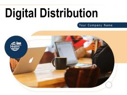 Digital Distribution Powerpoint Presentation Slides