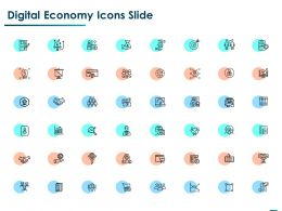 Digital Economy Icons Slide Ppt Powerpoint Presentation Ideas Example File