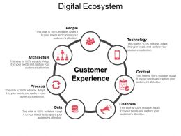 Digital Ecosystem Ppt Infographic Template