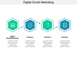 Digital Email Marketing Ppt Powerpoint Presentation Gallery Shapes Cpb