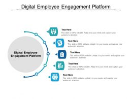 Digital Employee Engagement Platform Ppt Powerpoint Presentation Portfolio Graphics Template Cpb