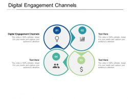 Digital Engagement Channels Ppt Powerpoint Presentation Portfolio Example Cpb