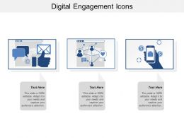 Digital Engagement Icons