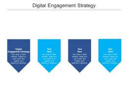 Digital Engagement Strategy Ppt Powerpoint Presentation Slides Example Cpb