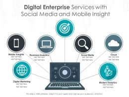 Digital Enterprise Services With Social Media And Mobile Insight