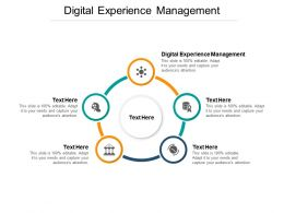 Digital Experience Management Ppt Powerpoint Presentation Graphics Example Cpb