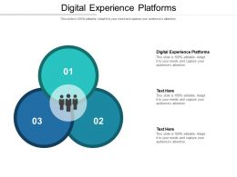 Digital Experience Platforms Ppt Powerpoint Presentation Icon Example Cpb