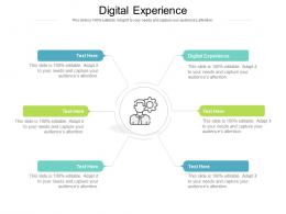 Digital Experience Ppt Powerpoint Presentation Styles Show Cpb