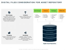 Digital Files Consideration For Asset Repository Ppt Powerpoint Presentation Inspiration Gridlines