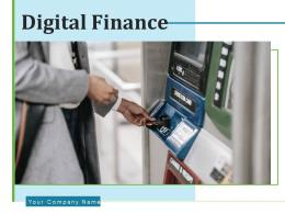 Digital Finance Finance Investments Valuation Individual Transaction