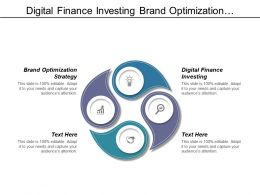 Digital Finance Investing Brand Optimization Strategy Data Analytics Process Cpb