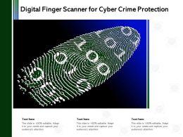 Digital Finger Scanner For Cyber Crime Protection
