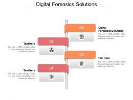 Digital Forensics Solutions Ppt Powerpoint Presentation Layouts Portrait Cpb