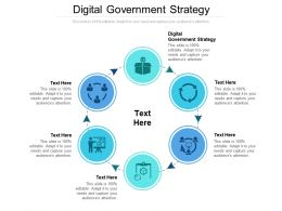 Digital Government Strategy Ppt Powerpoint Presentation Professional Slides Cpb