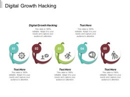 Digital Growth Hacking Ppt Powerpoint Presentation Infographic Template Styles Cpb