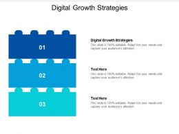 Digital Growth Strategies Ppt Powerpoint Presentation File Structure Cpb