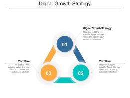 Digital Growth Strategy Ppt Powerpoint Presentation Ideas Master Slide Cpb