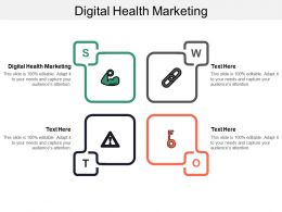 Digital Health Marketing Ppt Powerpoint Presentation Gallery Show Cpb