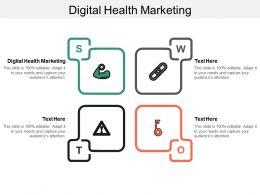 Digital Health Marketing Ppt Powerpoint Presentation Gallery Show Cpb