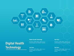 Digital Health Technology Ppt Powerpoint Presentation Professional Example