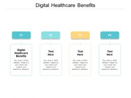 Digital Healthcare Benefits Ppt Powerpoint Presentation Layouts Skills Cpb