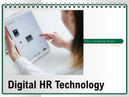 Digital HR Technology Powerpoint Presentation Slides