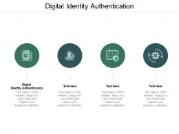 Digital Identity Authentication Ppt Powerpoint Presentation Styles Inspiration Cpb