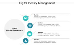 Digital Identity Management Ppt Powerpoint Presentation Portfolio Grid Cpb