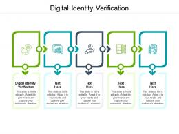 Digital Identity Verification Ppt Powerpoint Presentation Infographic Template Designs Download Cpb