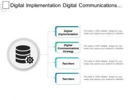 Digital Implementation Digital Communications Strategy Digital Operations Services Cpb