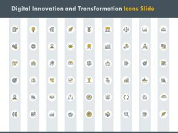 Digital Innovation And Transformation Icons Slide Plan Ppt Powerpoint Presentation Professional Demonstration