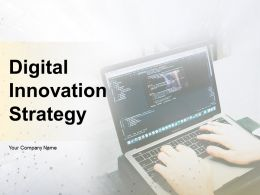 Digital Innovation Strategy Powerpoint Presentation Slides