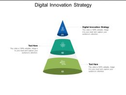 Digital Innovation Strategy Ppt Powerpoint Presentation Model Slideshow Cpb