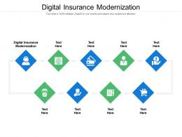 Digital Insurance Modernization Ppt Powerpoint Presentation Slides Files Cpb