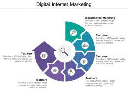 Digital Internet Marketing Ppt Powerpoint Presentation Pictures Topics Cpb