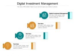 Digital Investment Management Ppt Powerpoint Presentation Images Cpb