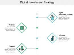 Digital Investment Strategy Ppt Powerpoint Presentation Slides Graphics Download Cpb