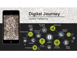Digital Journey Powerpoint Slide Themes