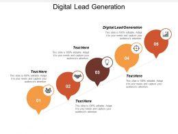 Digital Lead Generation Ppt Powerpoint Presentation Portfolio Graphics Download Cpb