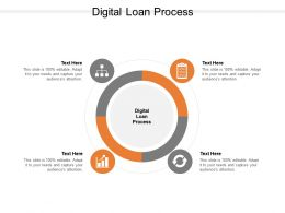 Digital Loan Process Ppt Powerpoint Presentation Gallery Objects Cpb