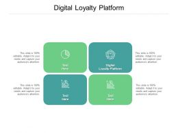 Digital Loyalty Platform Ppt Powerpoint Presentation Styles Outfit Cpb