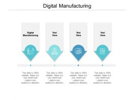 Digital Manufacturing Ppt Powerpoint Presentation Styles Display Cpb