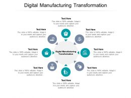 Digital Manufacturing Transformation Ppt Powerpoint Presentation Styles Brochure