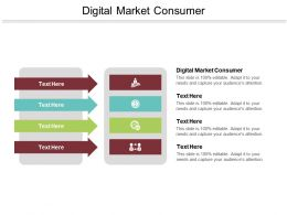 Digital Market Consumer Ppt Powerpoint Presentation File Icons Cpb