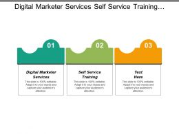 Digital Marketer Services Self Service Training Engaged Audience Plan Cpb