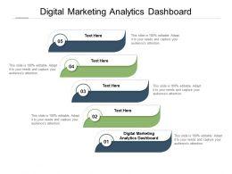 Digital Marketing Analytics Dashboard Ppt Powerpoint Presentation Ideas Graphics Pictures Cpb