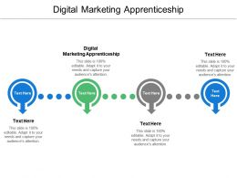 Digital Marketing Apprenticeship Ppt Powerpoint Presentation Icon Graphic Tips Cpb