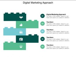 Digital Marketing Approach Ppt Powerpoint Presentation Gallery Influencers Cpb